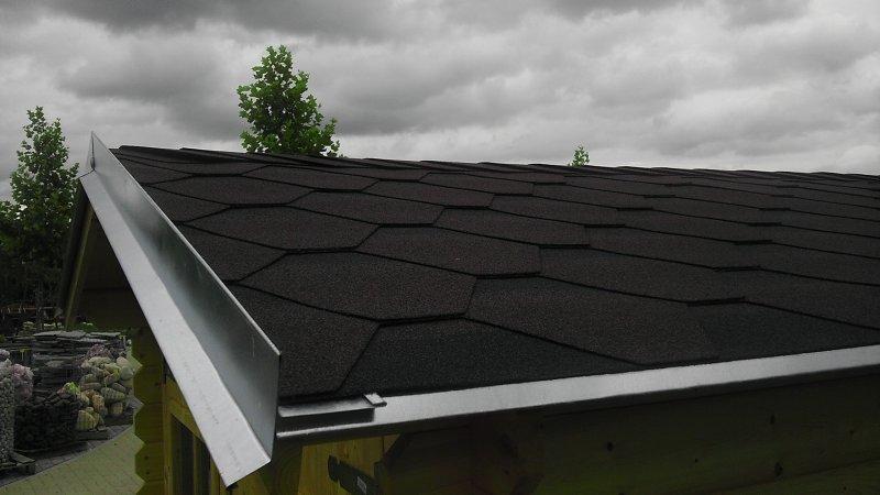 Oplechování střechy pod šindel