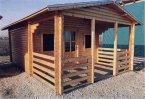 Zahradní domek GOLIÁŠ 4x4m+4x2m (6x4m)
