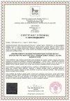 Certifikát - dřevostavby